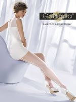 White Seamed Wedding Tights